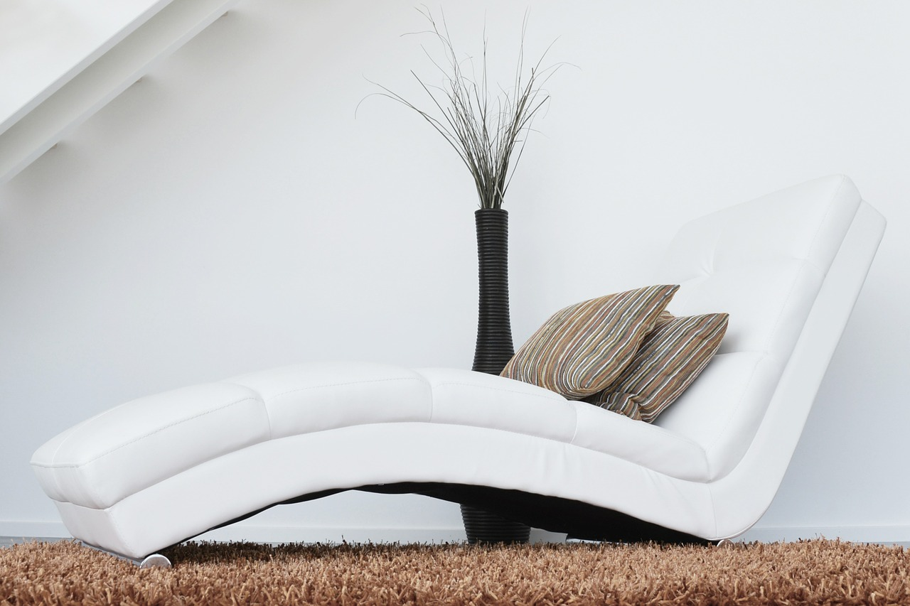 Décoration intérieure : le succès du blanc